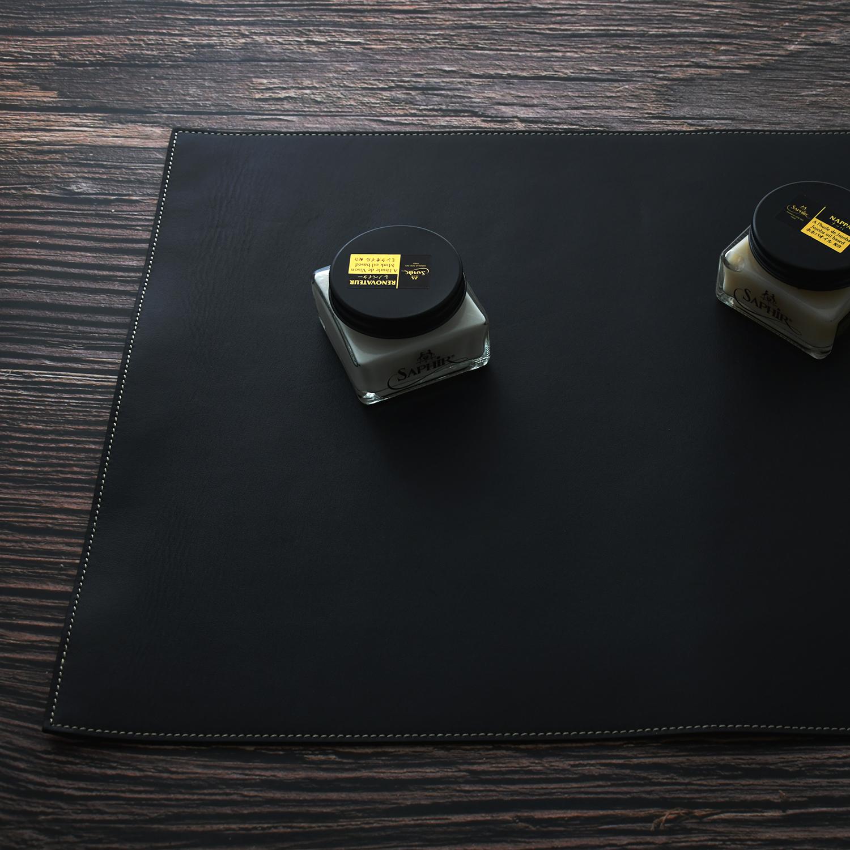 LCA シューシャインカーペット ブラックのイメージ画像です。