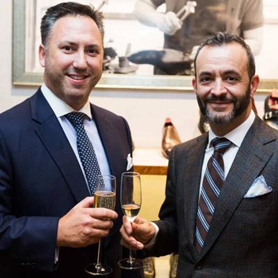 ガジアーノ&ガーリングのディーン・ガーリング氏(左)とトニー・ガジアーノ氏(右)