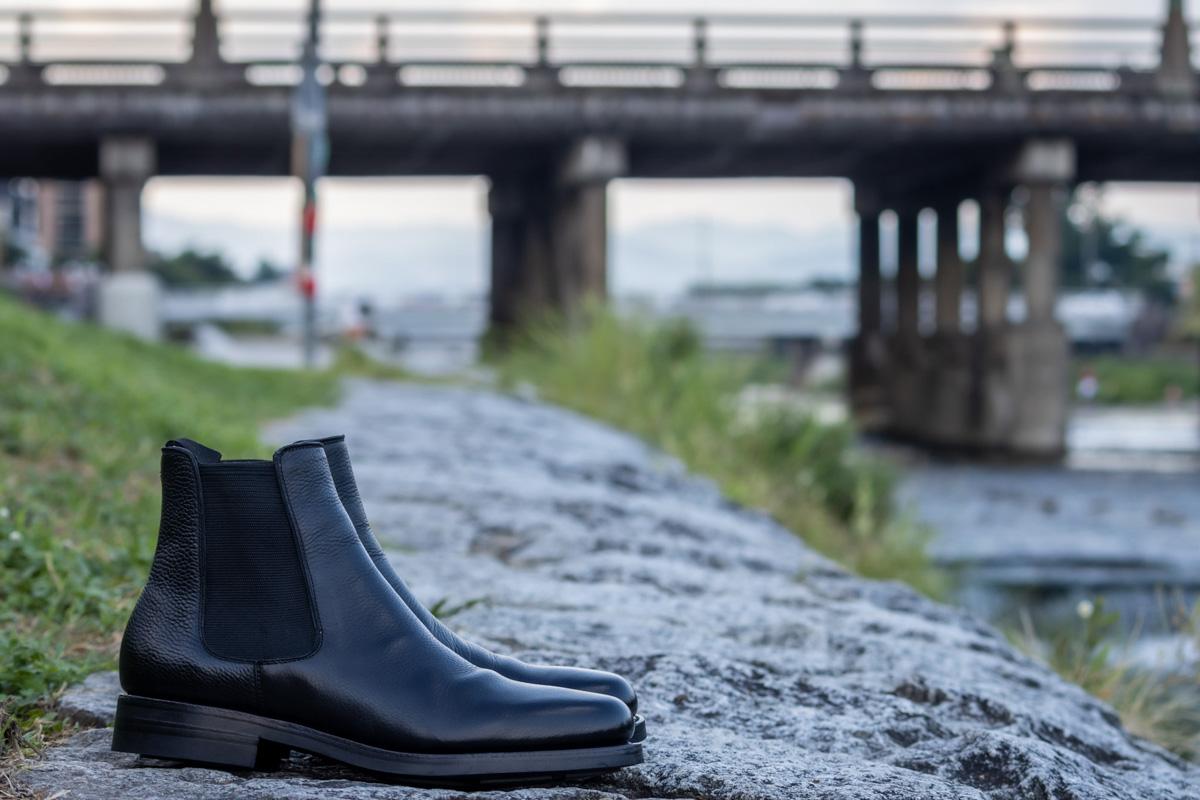 Oriental パターンオーダー の靴のイメージ画像です。