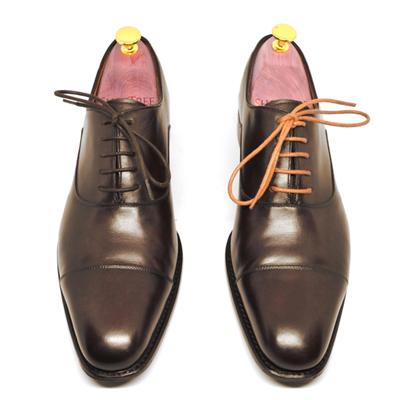 オックスフォードシューズに合うシューレース(靴紐)の通し方の種類