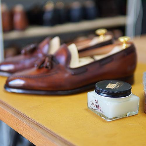 ほぼミンクオイルクリームだけで2年間育てた靴をご紹介します