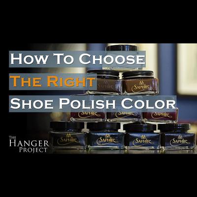 正しい靴クリームのカラーの選び方 -Kirby Allison's The Hanger Project